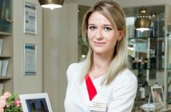 Врач дерматокосметолог, трихолог, дерматоонколог Перерушева Юлия Валерьевна